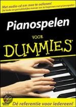 Omslag van het boek Pianospelen voor Dummies